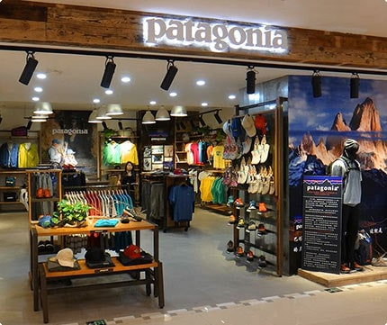 store front-patagonia