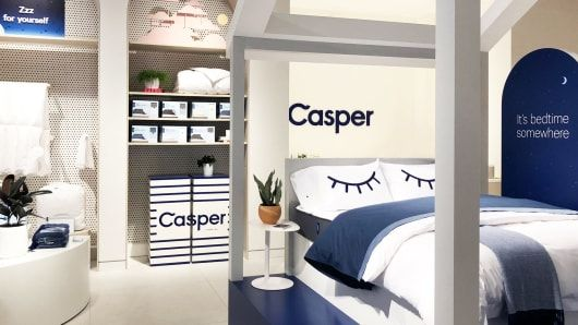 Casper. Dreams in a box. Direct to Consumer
