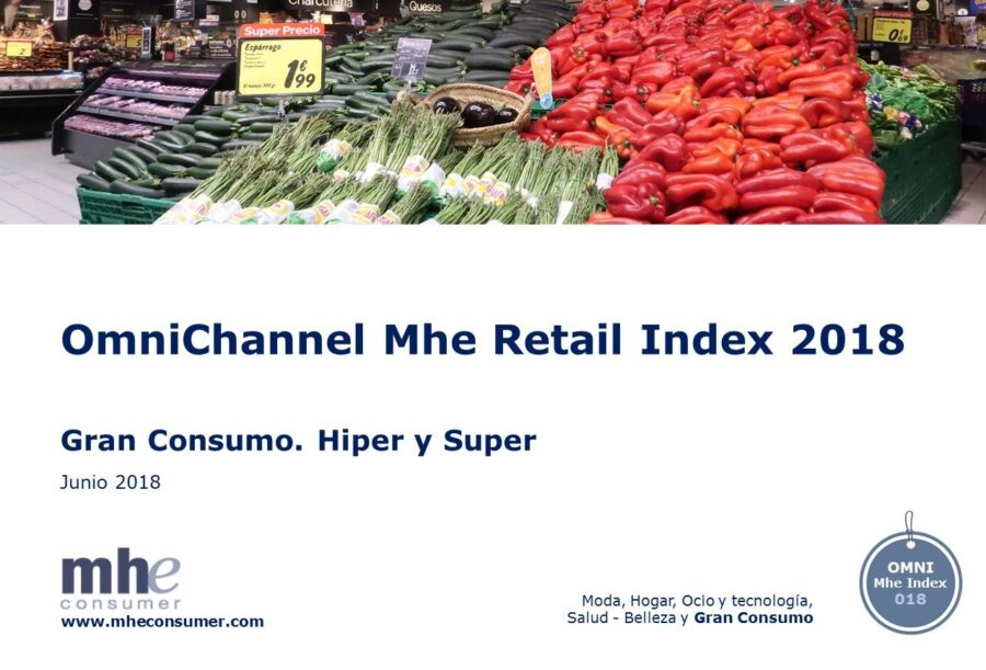Especial Gran Consumo. Omnichannel Mhe Retail Index 2018. Evolución Hiper y Super